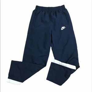 Nike pocketed lined drawstring track pants